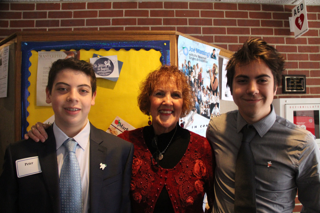 Caleb, Mrs. Brennan, and CXO